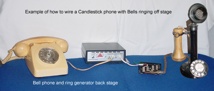 Connecting Old Telephones To The Stage Ringer